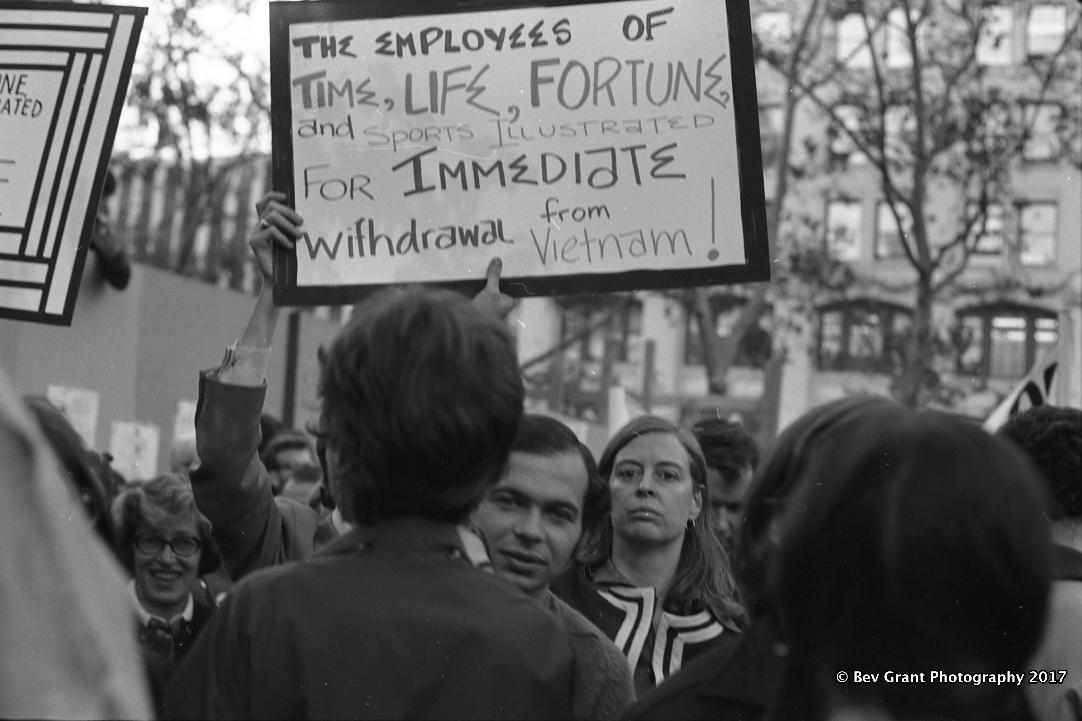 The Moratorium Against the Viet Nam War, Oct. 15, 1969