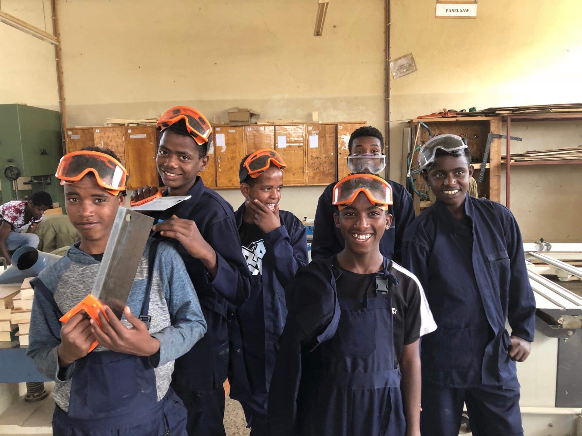 LIFE SKILLS - Learning trade work, that will last them a lifetime