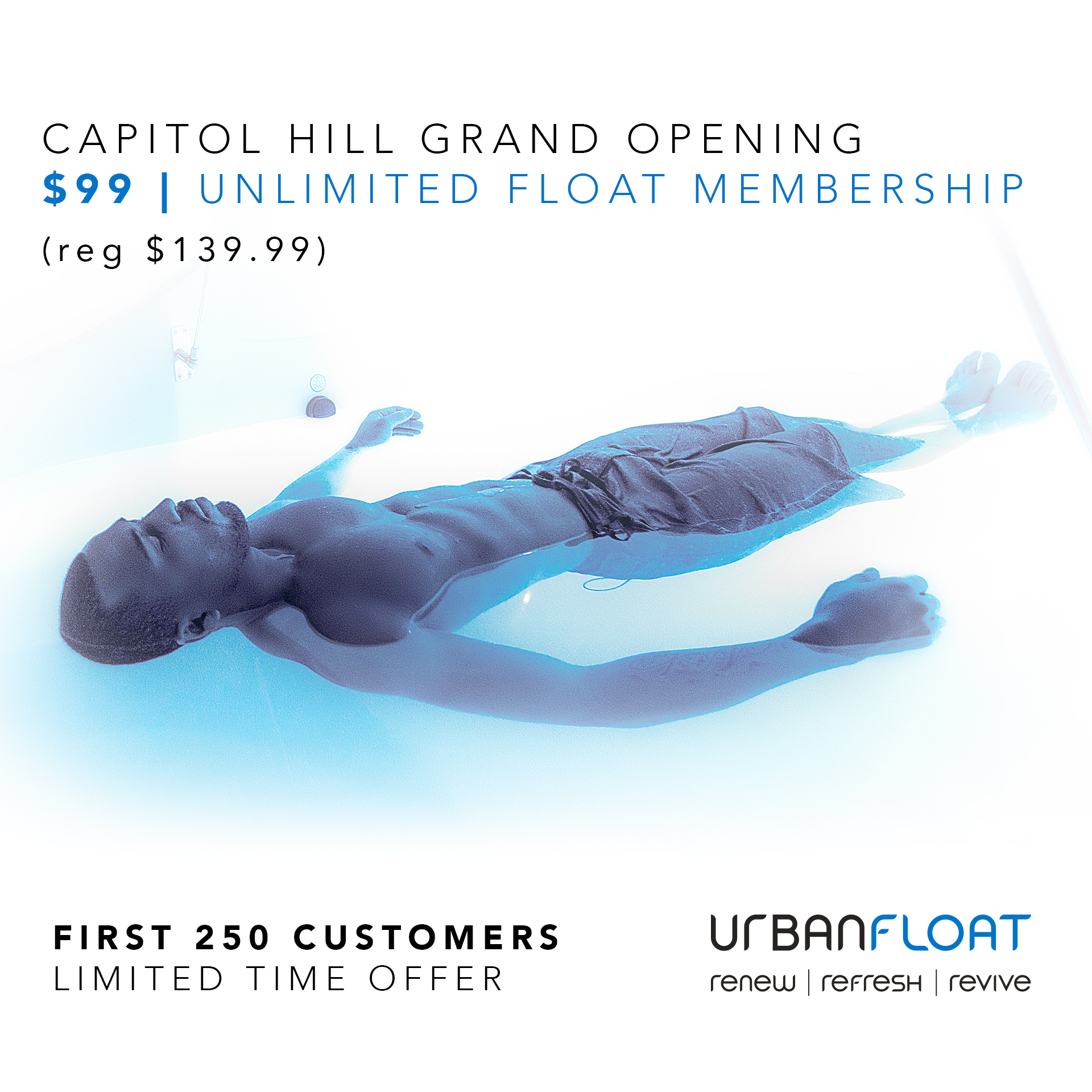 Capitol Hill Grand Opening Unlimited Floating Membership