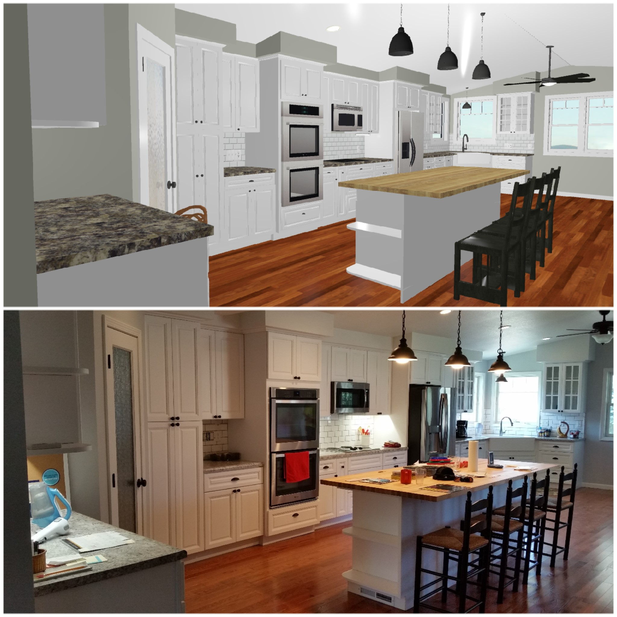 Design - We can take your vision and create the kitchen you always dreamed of. With 3D images and layouts your vision of your kitchen will come alive. We work closely with you from beginning to end and make sure your project runs smooth and timely.