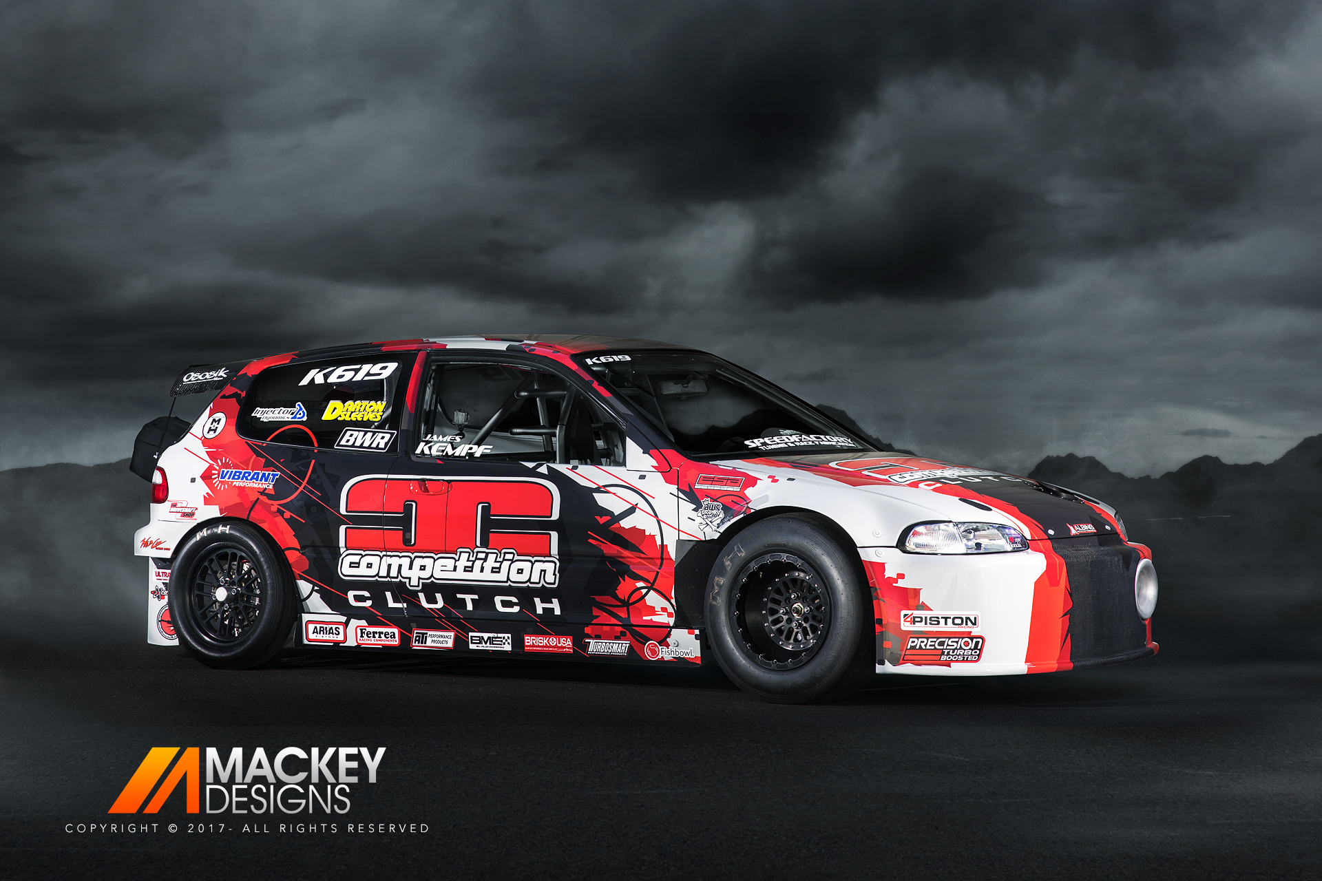 Automotive Photographer - Seattle - Josh Mackey - SpeedFactory Drag Racing Honda Civic