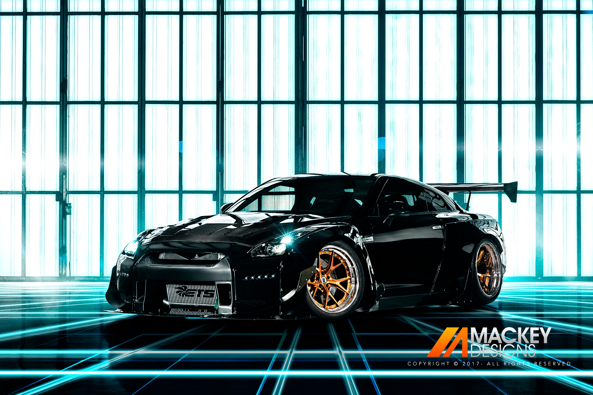 Automotive Photographer - Seattle - Josh Mackey - Rocket Bunny Nissan R35 GTR