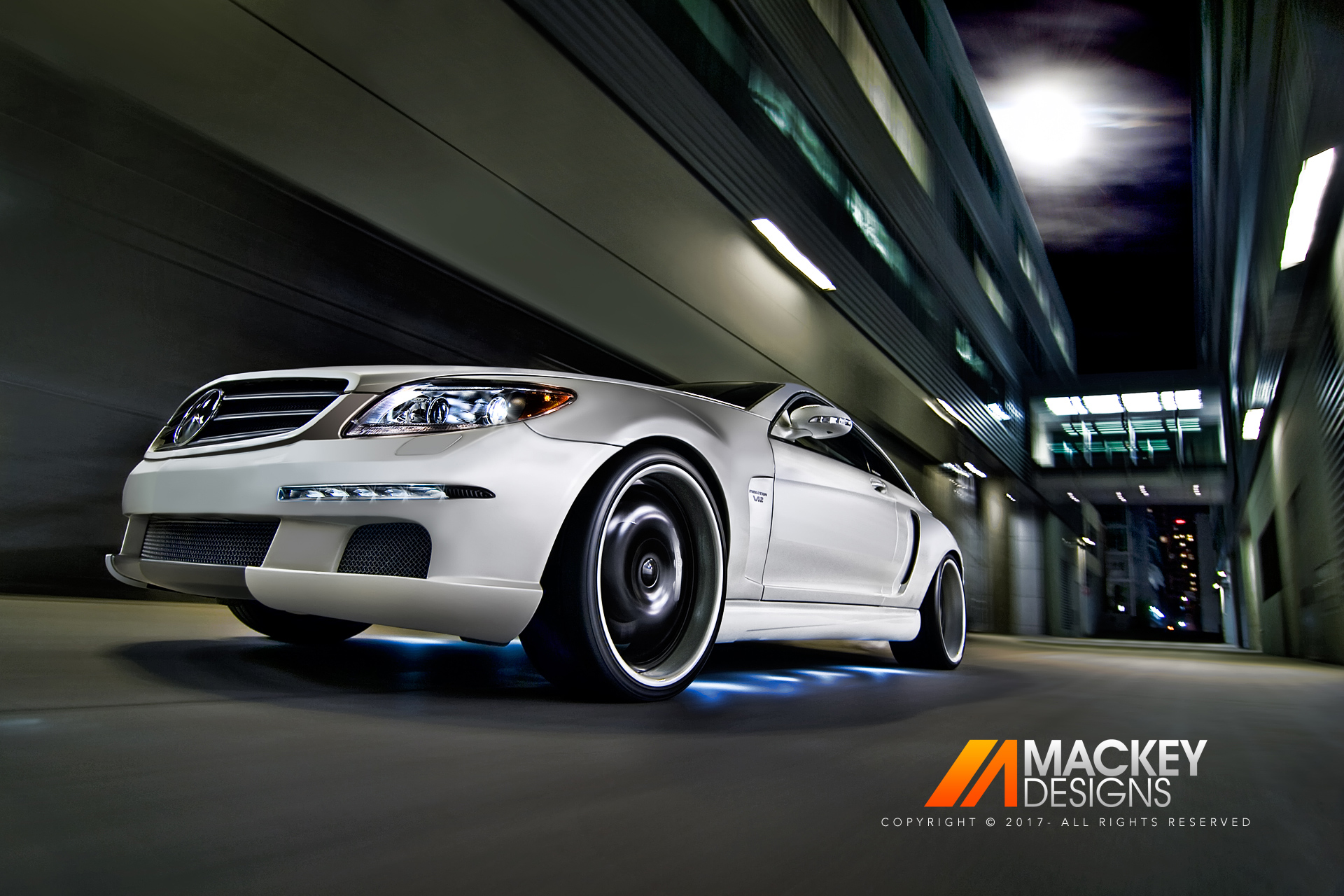 Automotive Photographer - Seattle - Josh Mackey - CNC Mercedes Benz