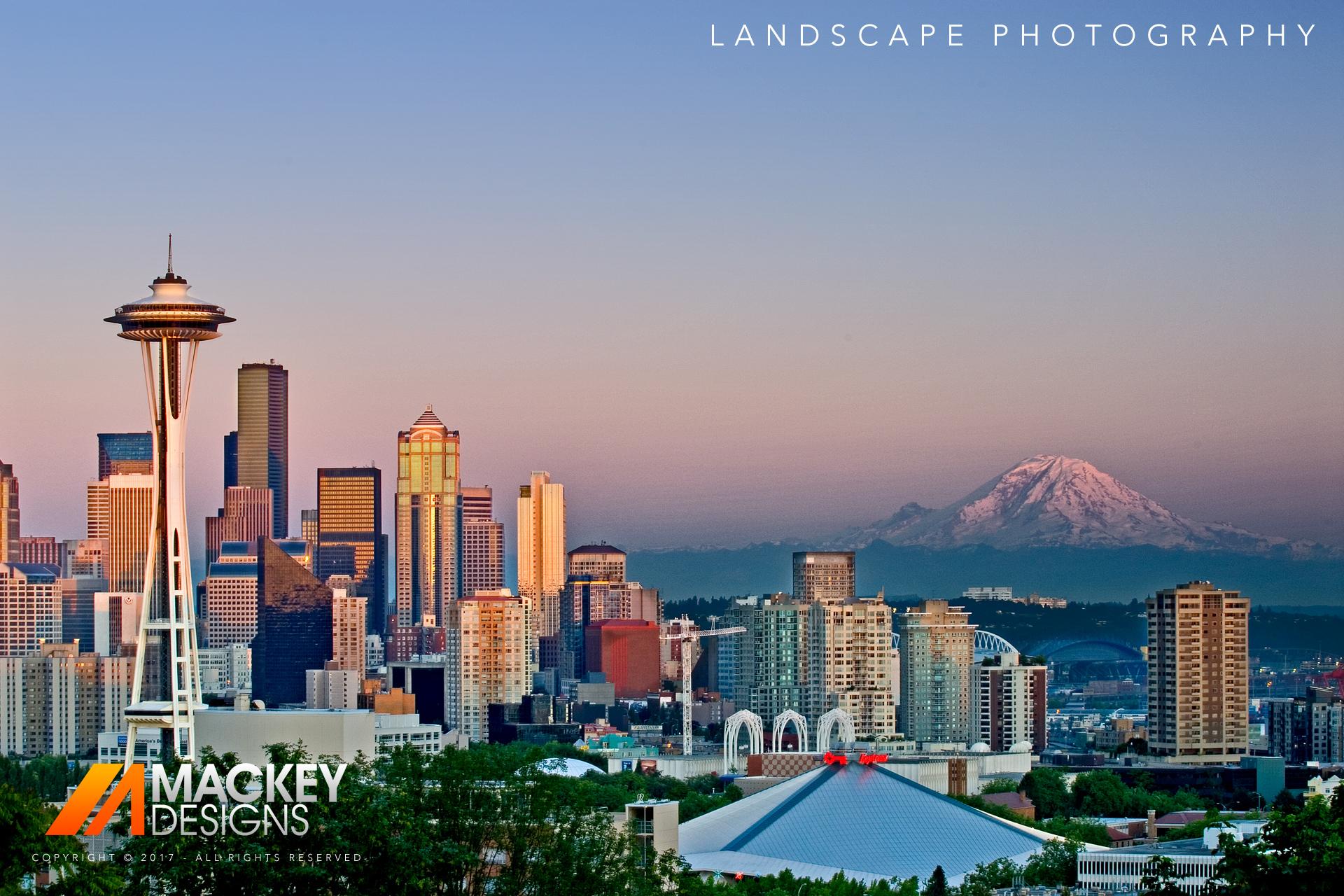 Photographer - Seattle - Josh Mackey - Landscape Cityspace