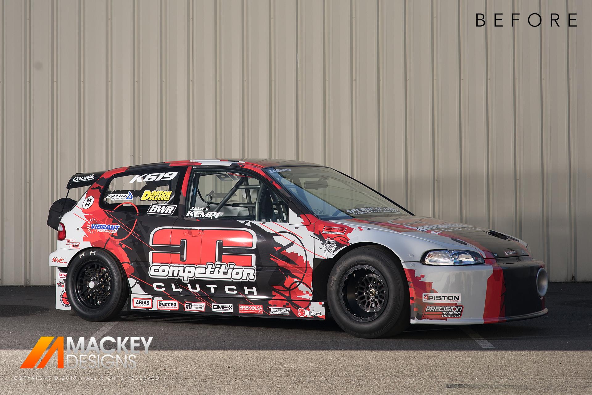 Automotive Photographer - Seattle - Josh Mackey - SpeedFactory Civic Before