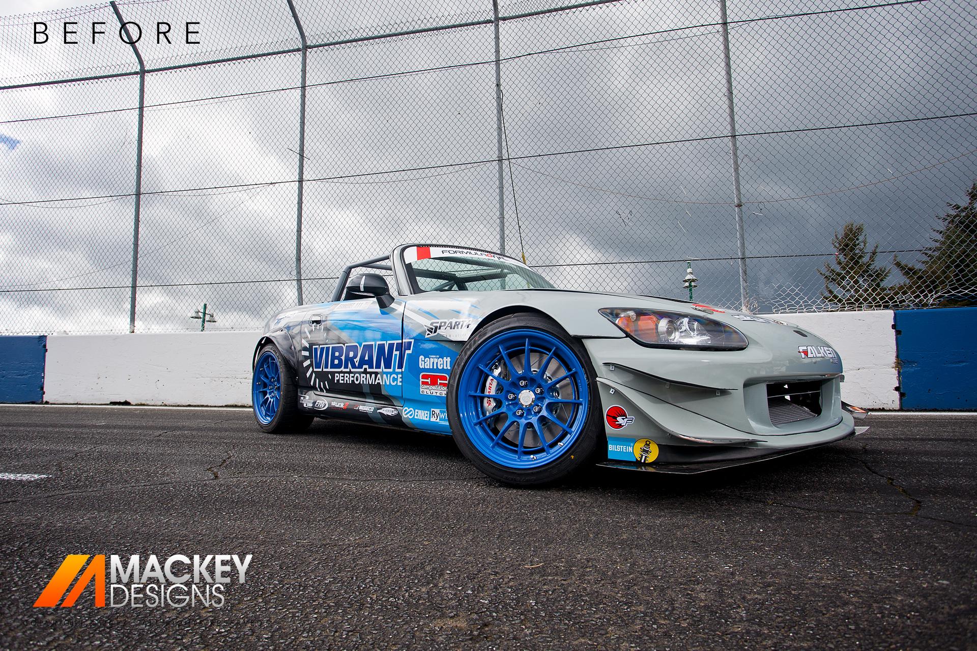 Automotive Photographer - Seattle - Josh Mackey - Formula DRIFT S2000 Before