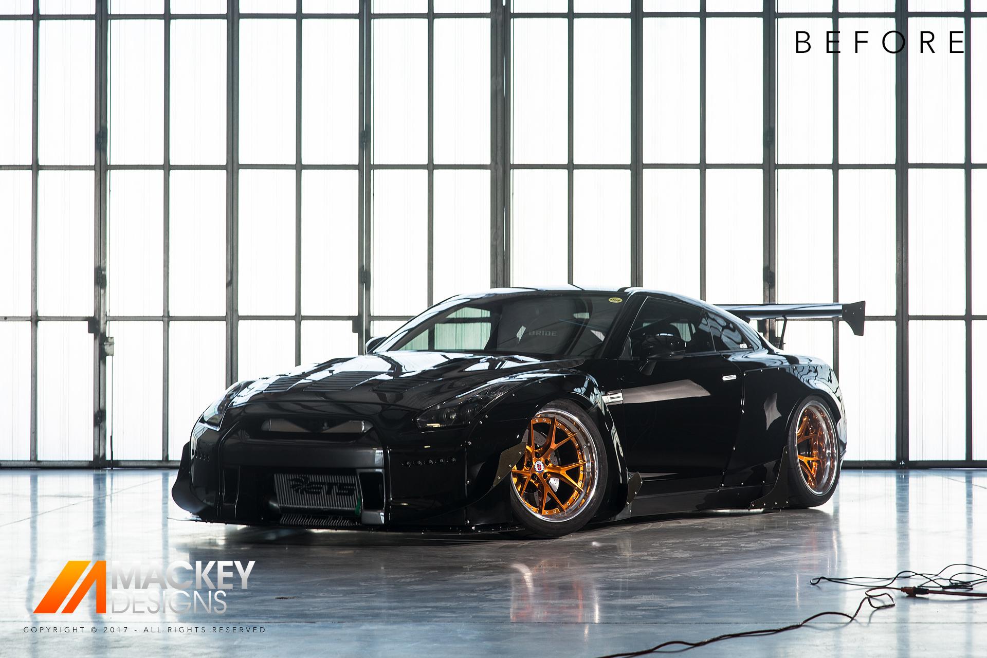 Automotive Photographer - Seattle - Josh Mackey - Rocket Bunny Nissan GTR R35 Before