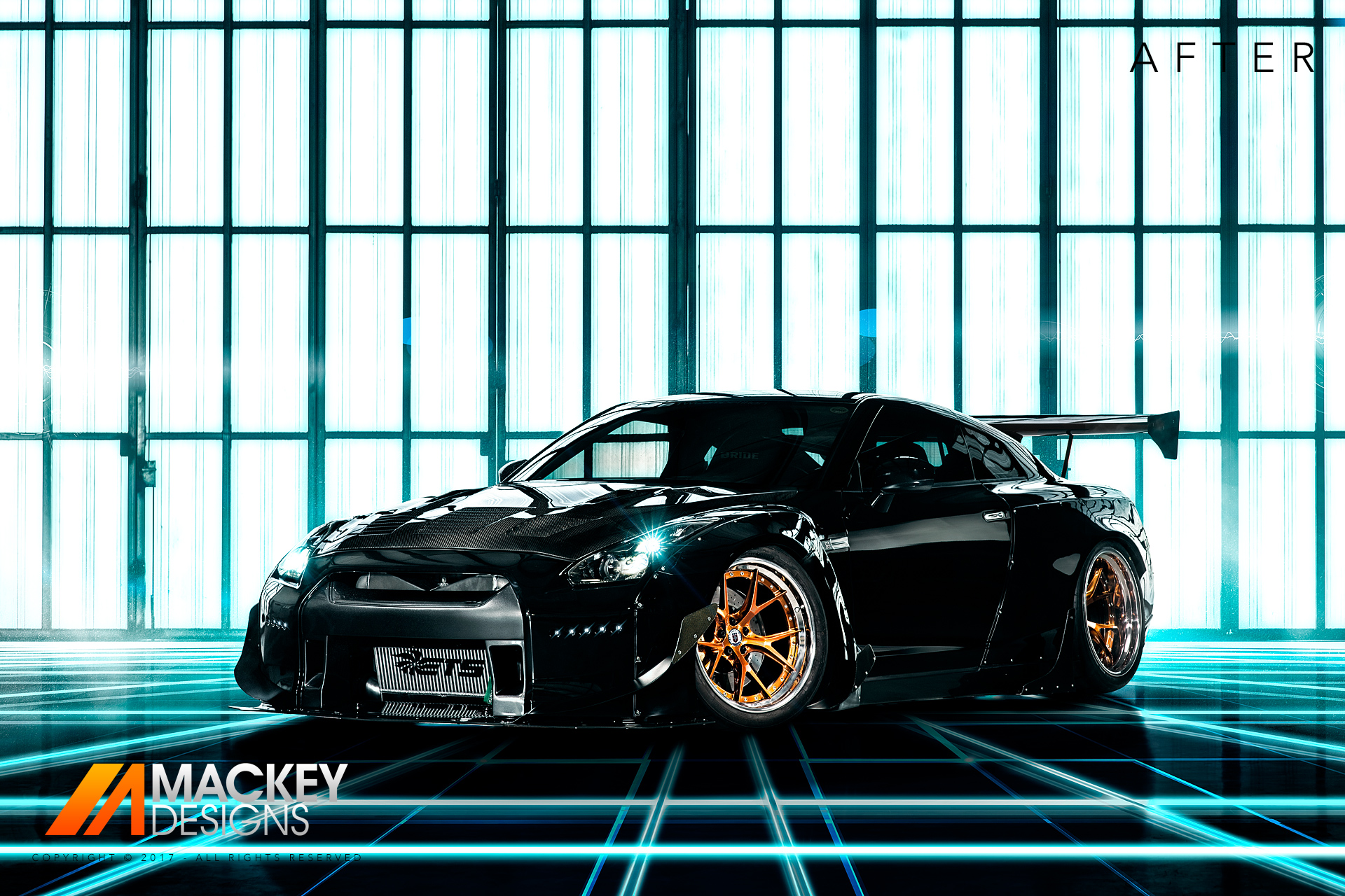 Automotive Photographer - Seattle - Josh Mackey - Rocket Bunny Nissan GTR R35 After