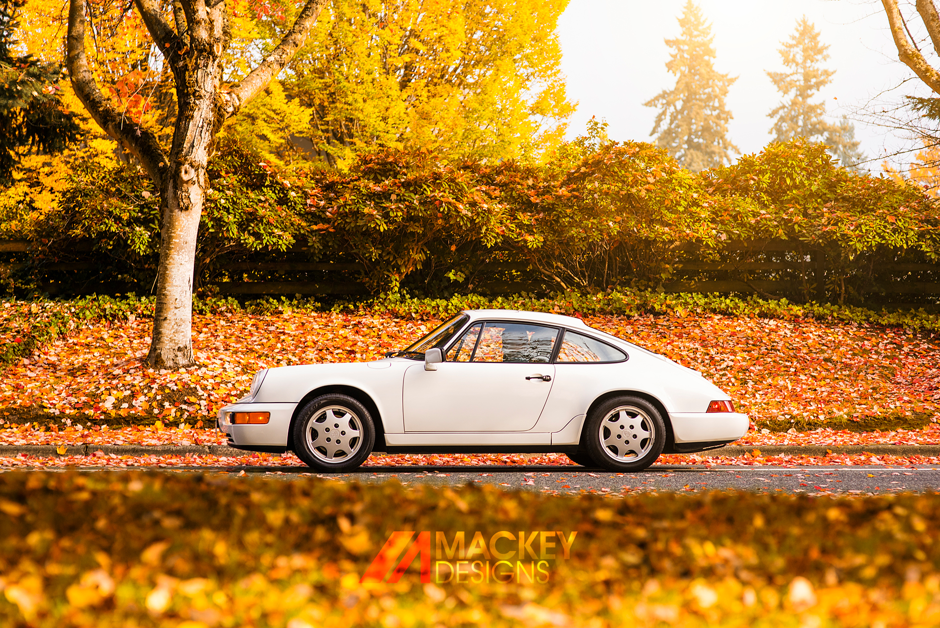 Automotive Photographer - Seattle - Josh Mackey - Porsche 911