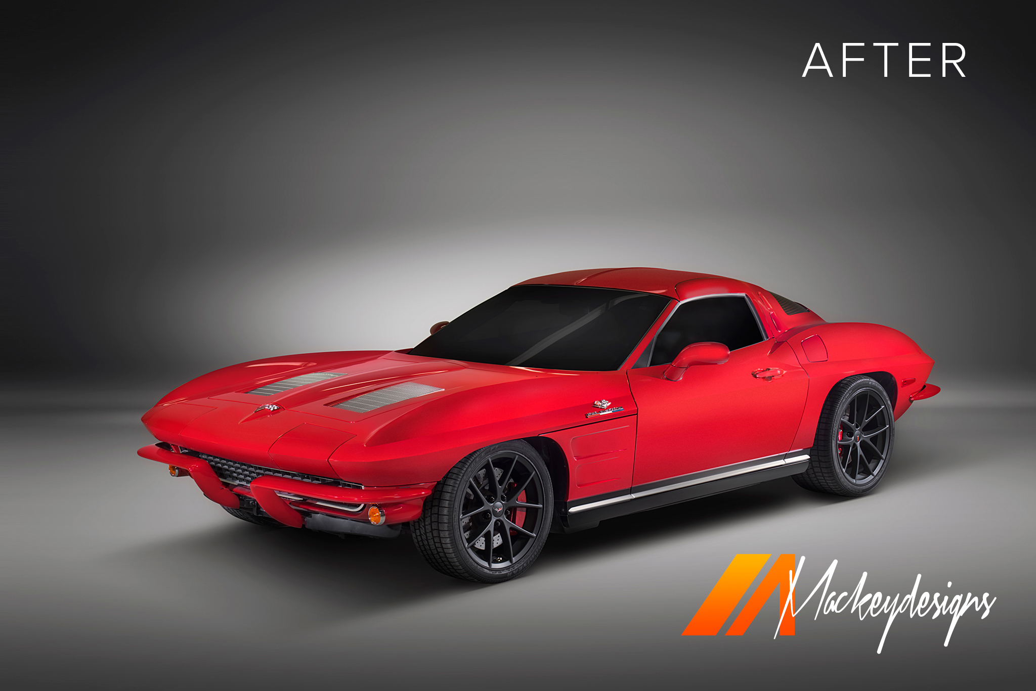 Automotive Photographer - Seattle - Josh Mackey - CRC Corvette After