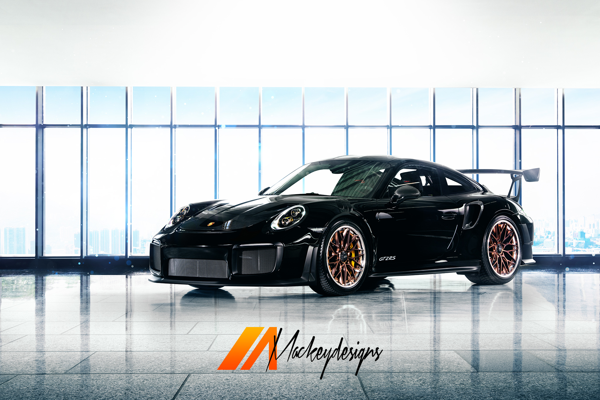 Automotive Photographer - Seattle - Josh Mackey - HRE Wheels Porsche GT2RS