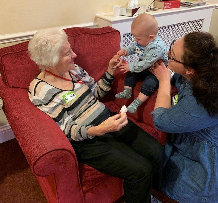 Rebecca and Douglas have become firm friends with Sylvia at Bucklesham Grange in Ipswich