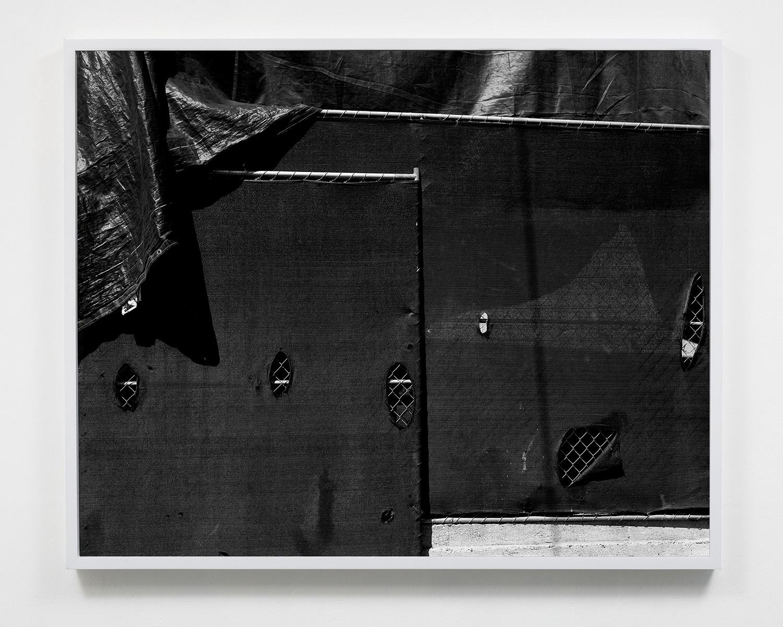 Untitled (Tarps) , 20 x 24, Gelatin silver print, 2015