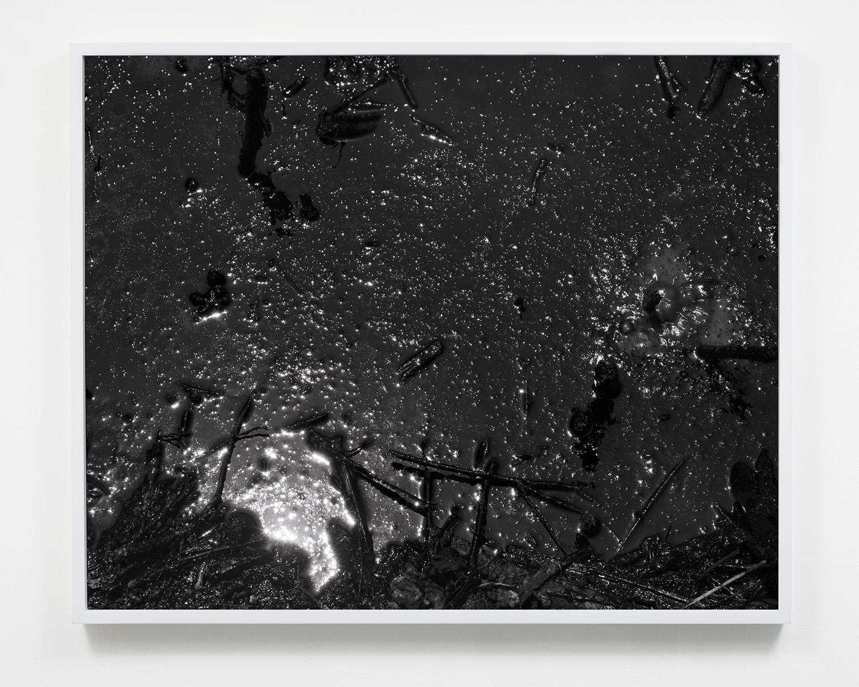 Destructive Distillation (Tar Cosmos),  22.5 x 27.5, Gelatin silver print, 2018.