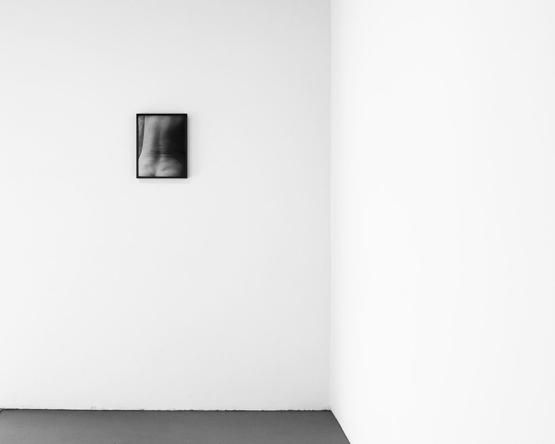 Installation View:  Back,  11 x 14, Gelatin silver print, 2019