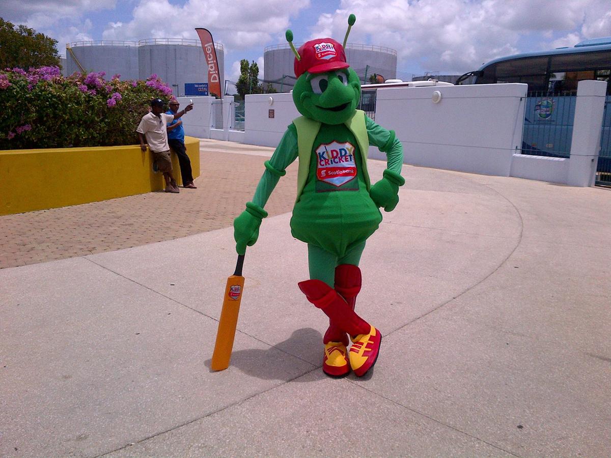 West Indies Cricket League Mascot