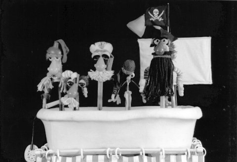 """Excited about  our """"Bathtub Pirates"""" performance this Saturday at the beautiful Cary Arts Center  in Cary, NC!"""
