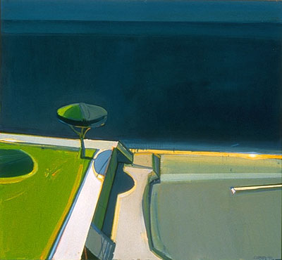 Raimonds Staprans painting - sold