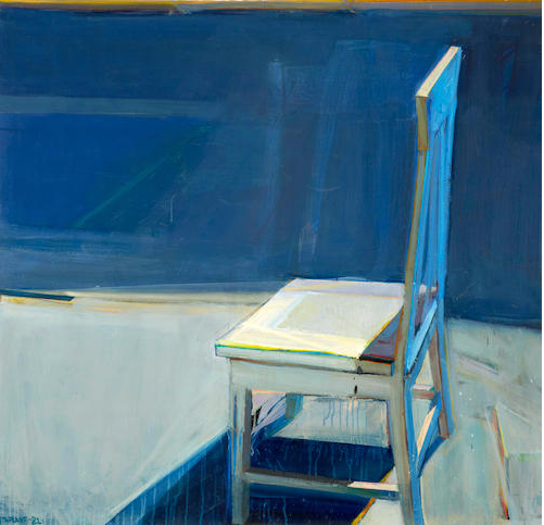 Staprans blue chair - sold