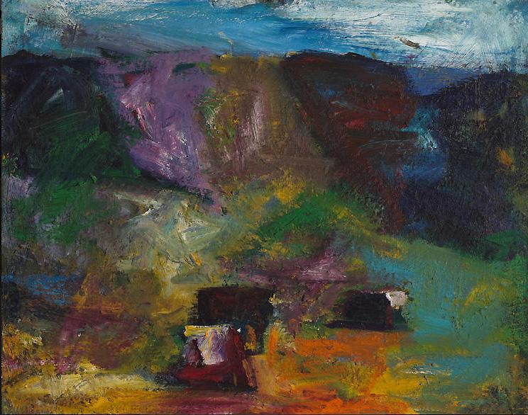 "Terry St. John - oil on canvas 36""x20"""