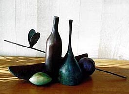 Ode to Hamaguchi - Robert Holmes sculpture