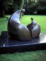 Rondelle - Robert Holmes sculpture