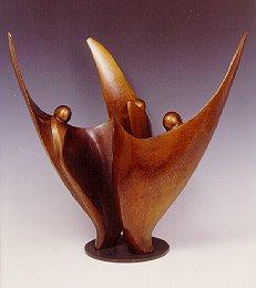 Flower Dancers - Robert Holmes sculpture