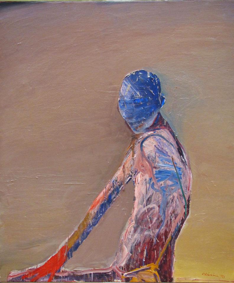 Nathan Oliveira painting blue face.jpg