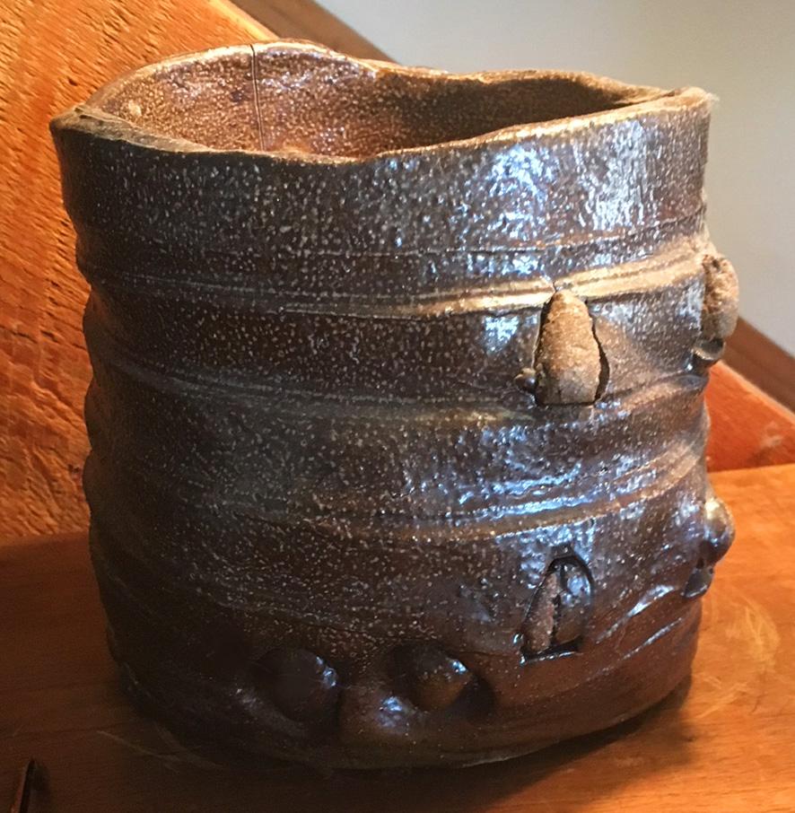 Peter Voulkos - clay ice bucket