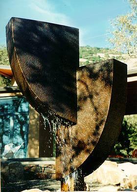 Archie Held - sculpture & water sculpture