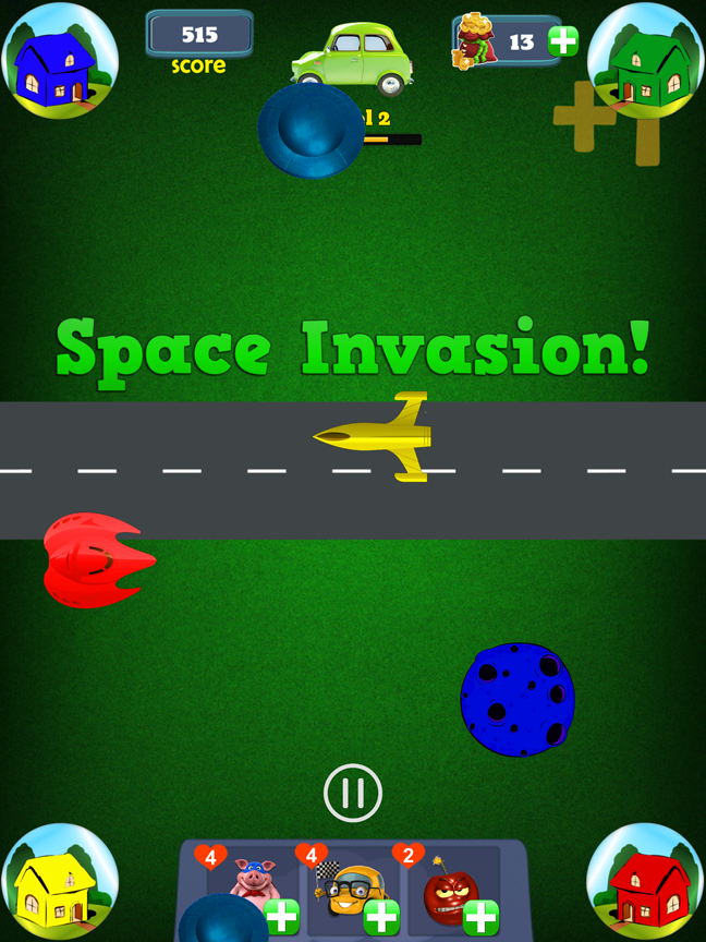 Try to survive the Space Invasion!