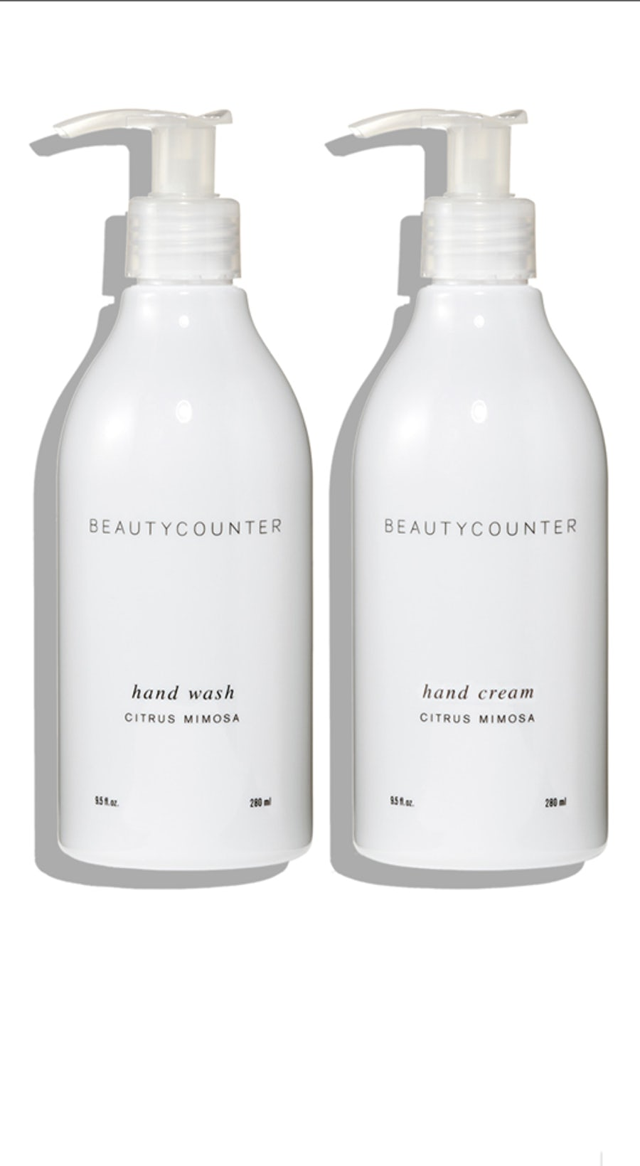 citrus mimosa hand soap and lotion