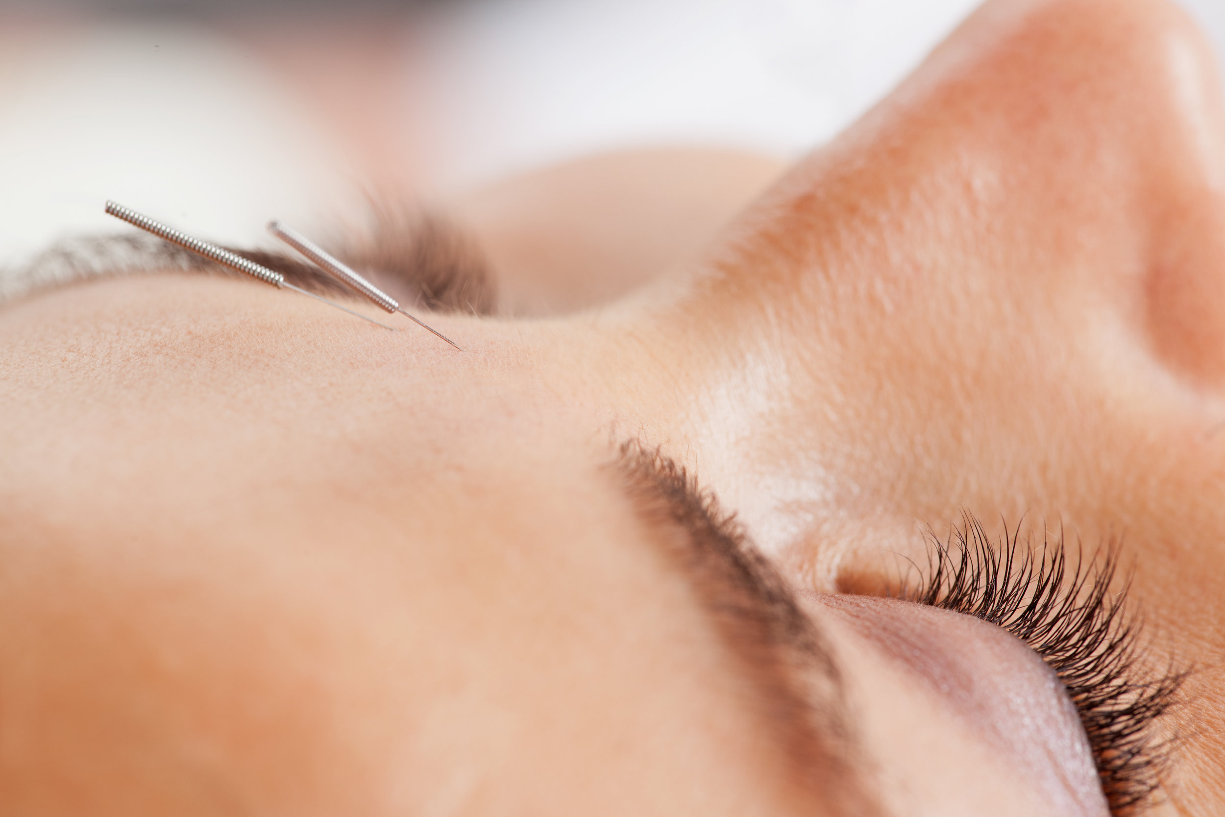 Cosmetic Acupuncture - Take care of your inner, spiritual beauty. That will reflect in your face.~Dolores del Rio