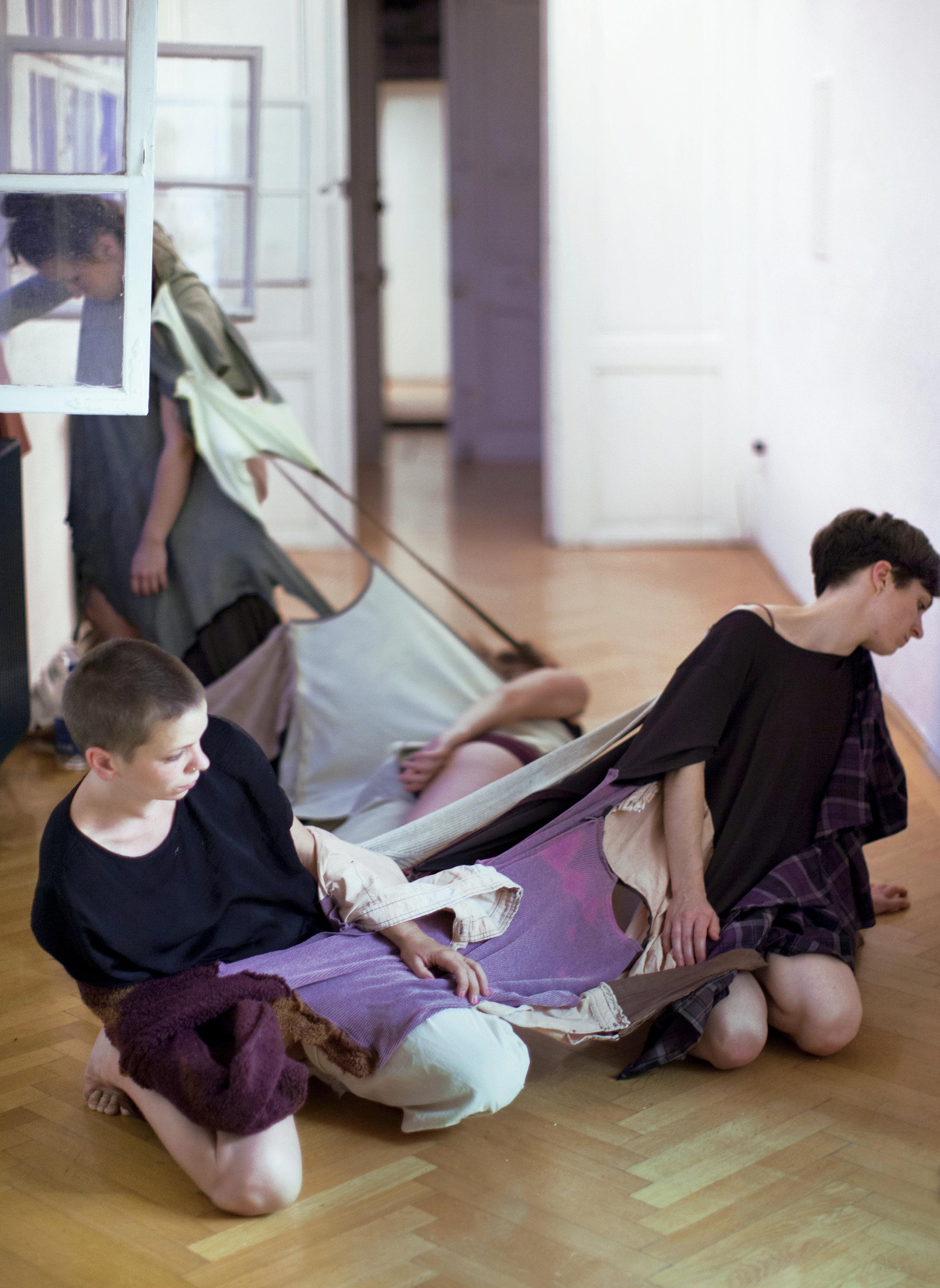 Graźyna Roguski  (Snails) performance    2017