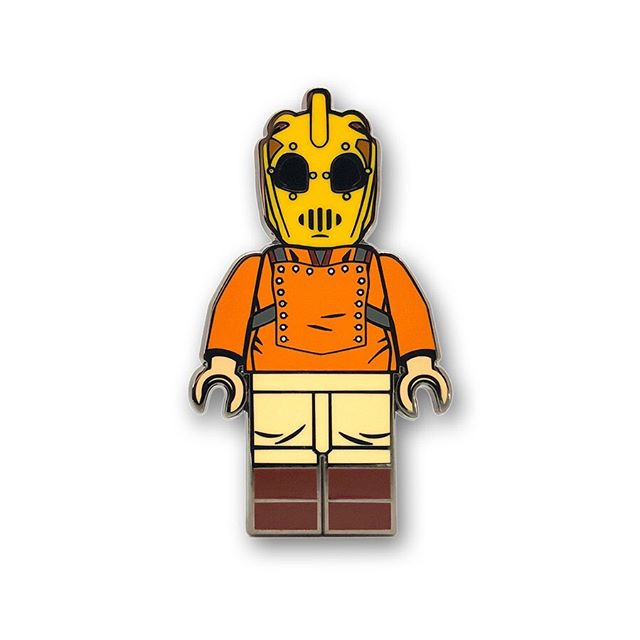 🚨NEW PIN DROP🚨 Pin # 2 in our BRICK ICONS line – The Bricketeer!! Available NOW! 🚀 Check out all the new BRICK ICONS characters via the link in our bio!