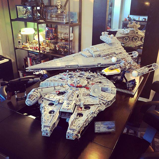 LEGOs were made 🤭 Star Wars were had.