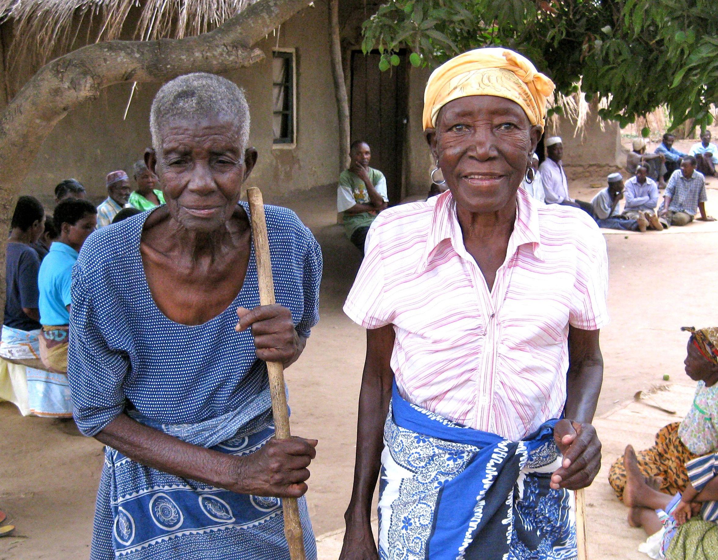 2,257 gogos received seeds and fertilizer - in seventeen village Gogo Groups