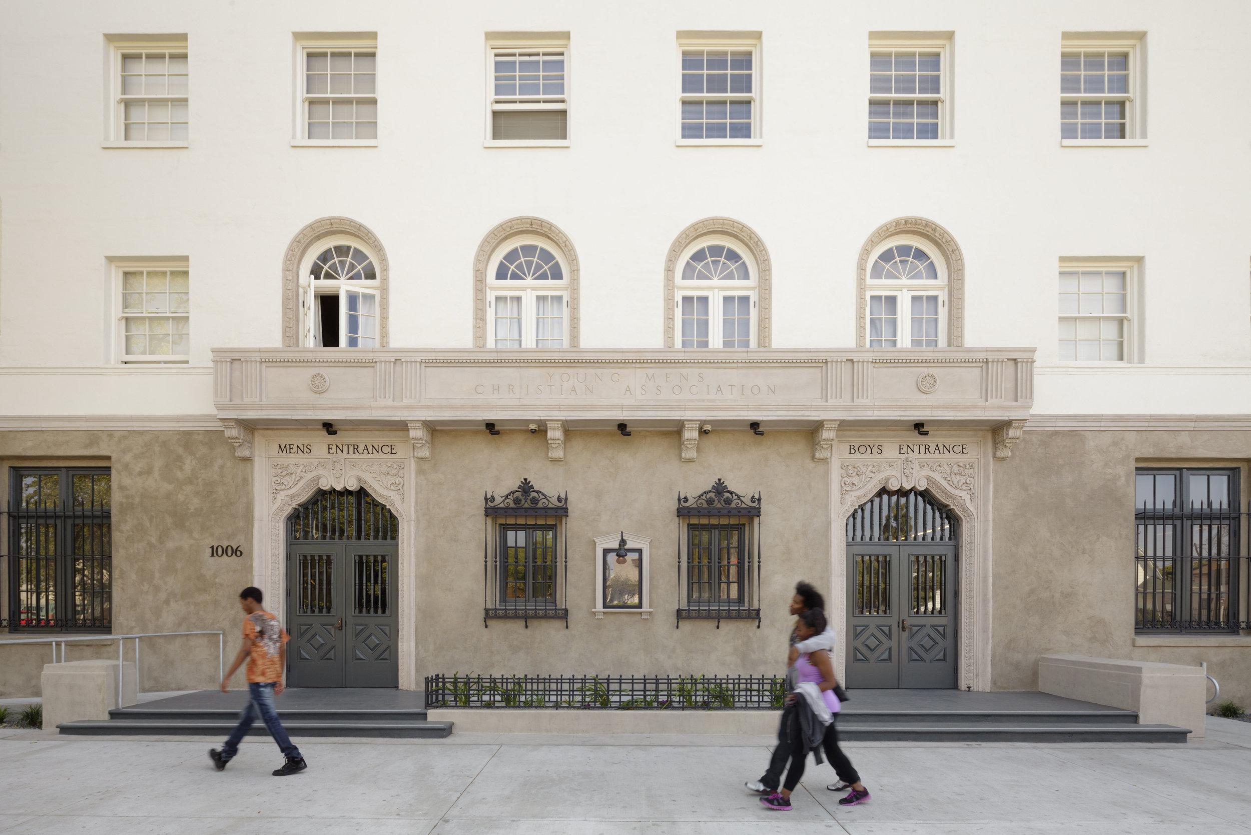 28th Street Apartments - Boys and Girls Entrances - Staudenmaier.jpg