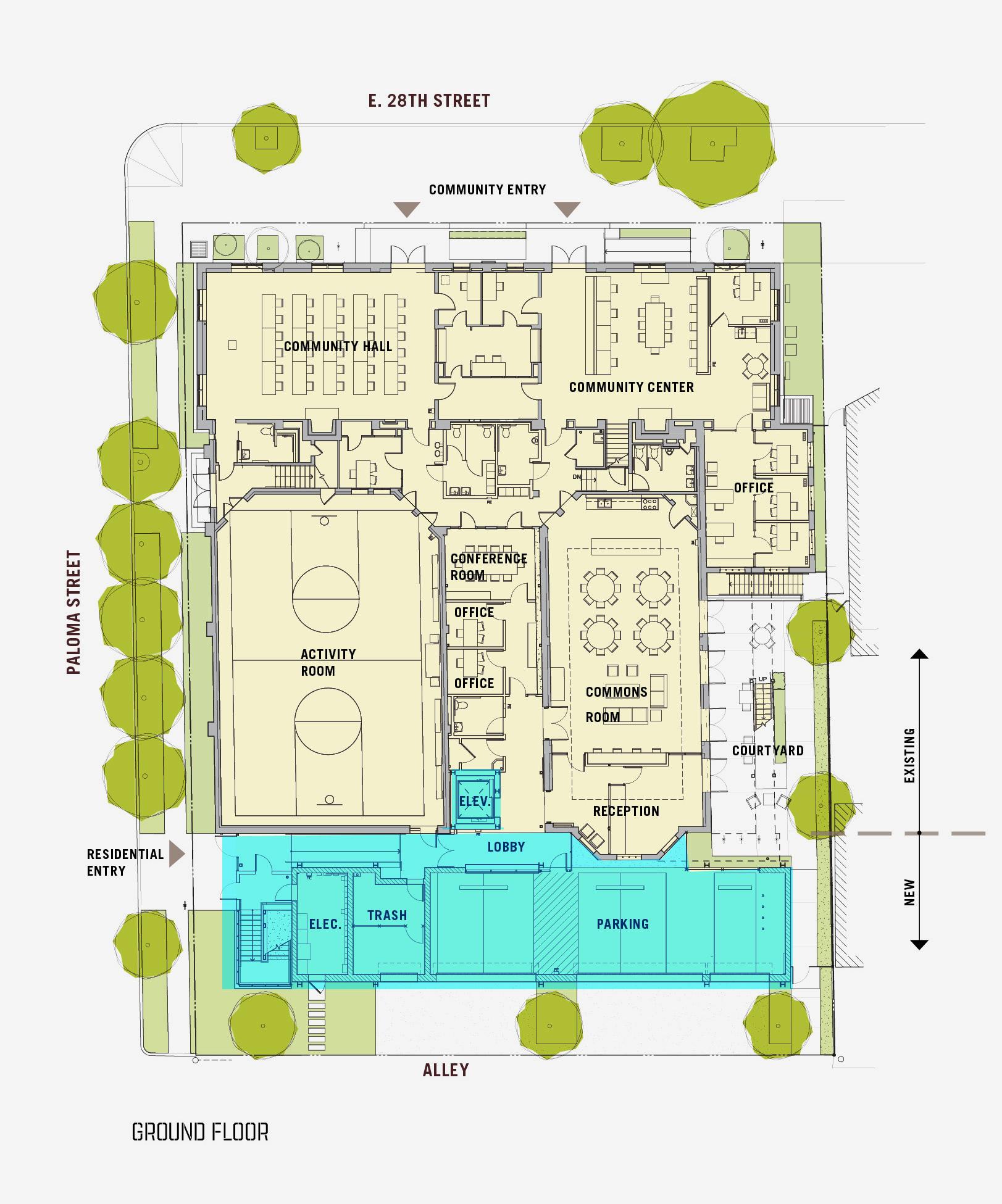 28th Street Apartments - Ground Floor Plan - KEA.jpg