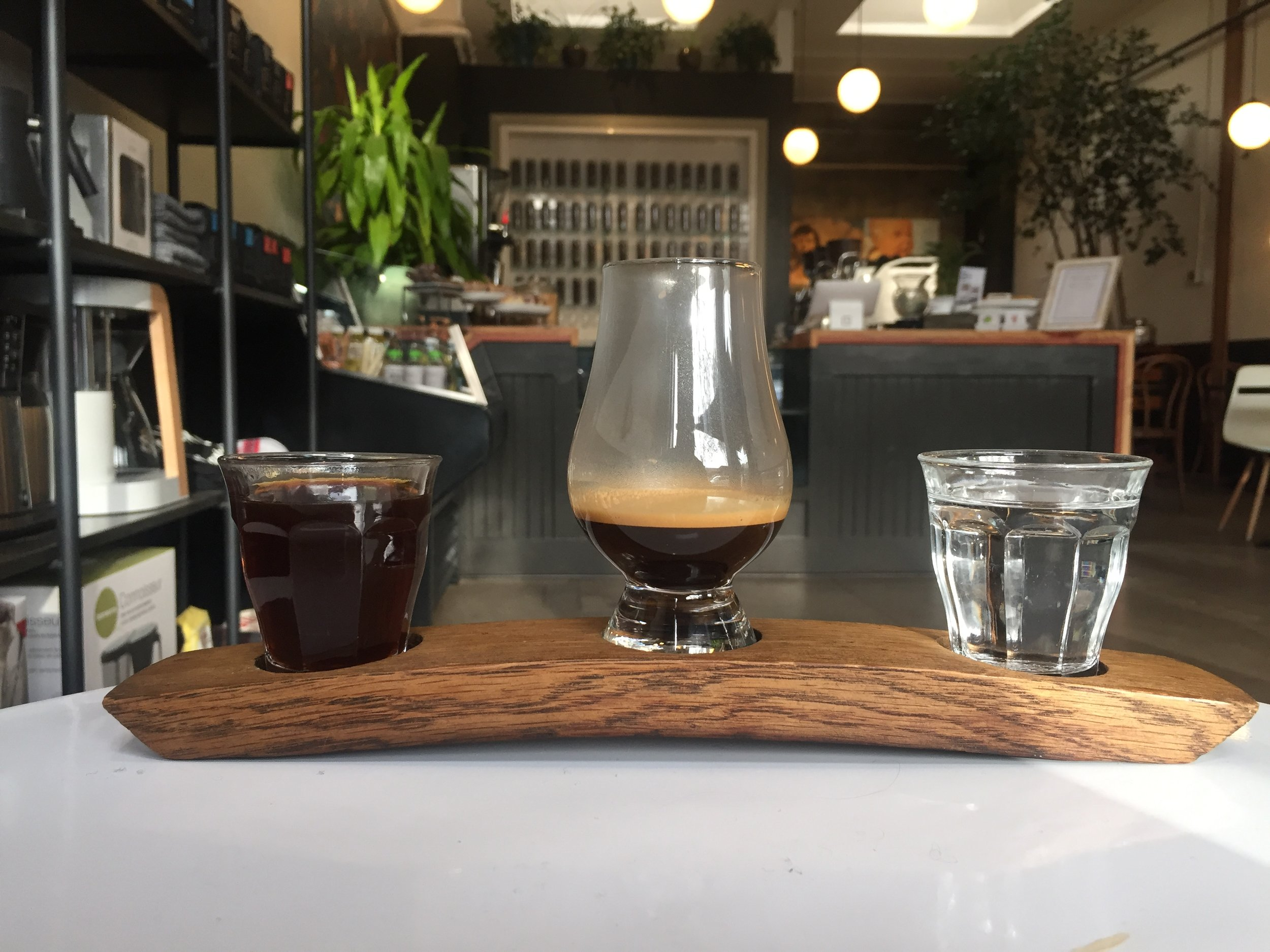 Sterling Coffee - At Portland's Sterling Coffee, the space is bigger but the intimacy remains.