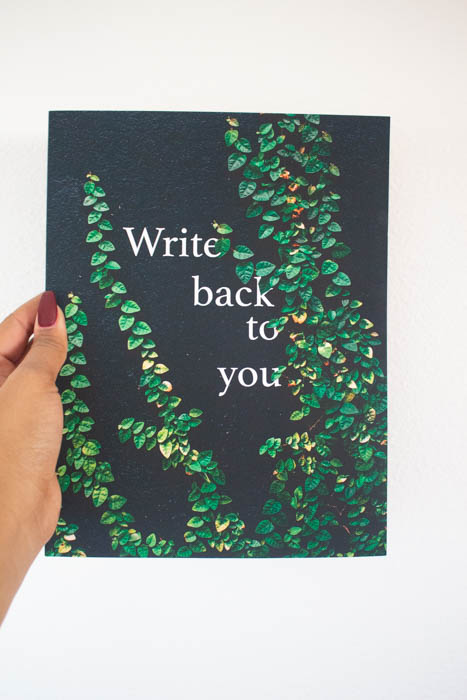 Write Back to You Journal - A guided journal for writing yourself back into your life through self-discover, self-awareness, and mindfulness.