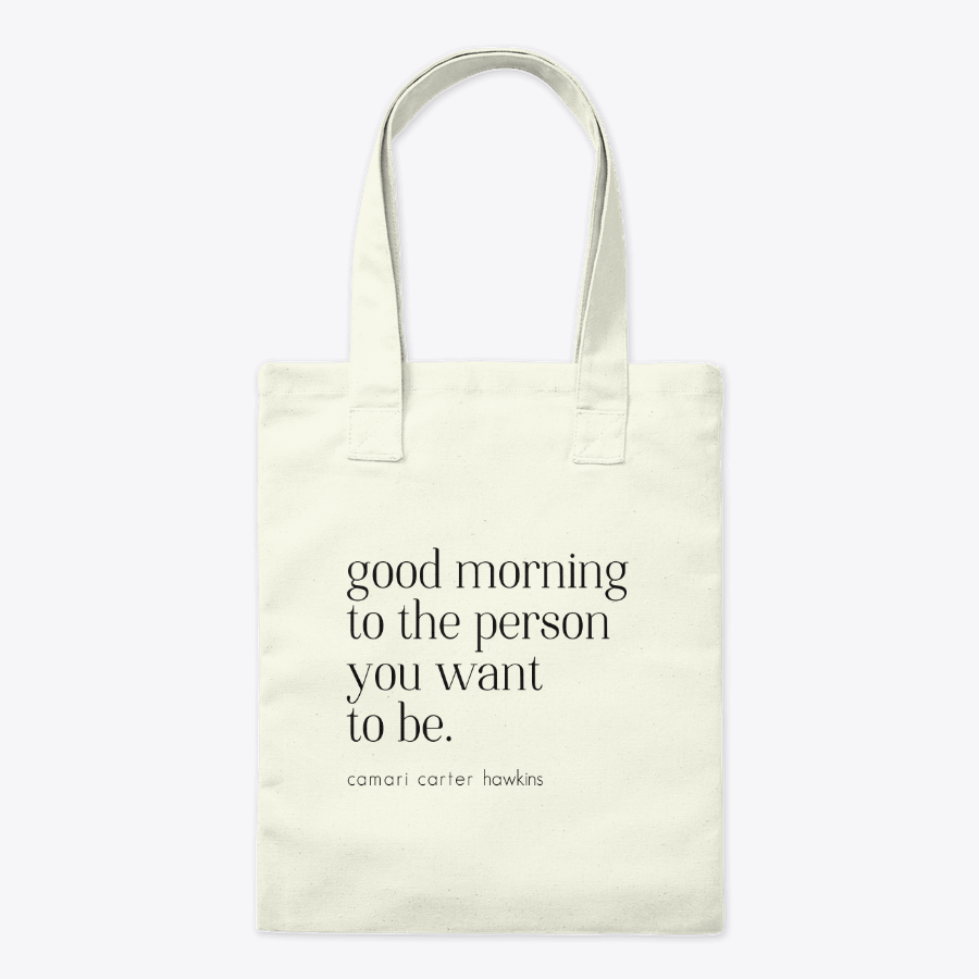 Good Morning Tote