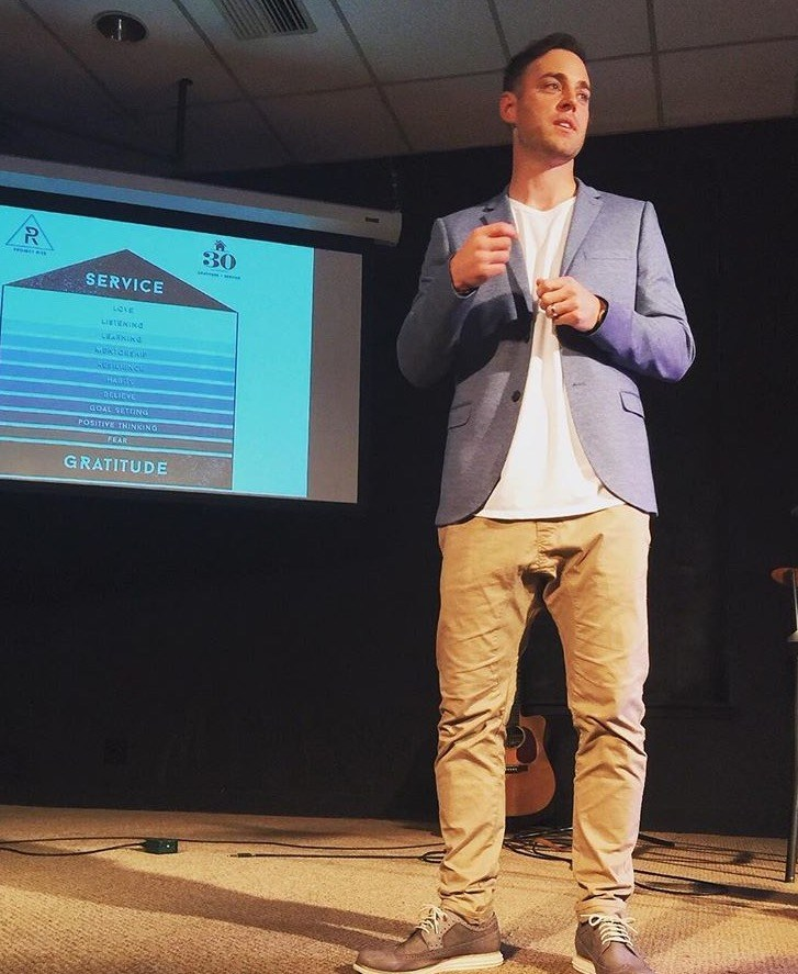 Aside from needing to learn how to iron his pants, Collin Henderson founded Project Rise to be used as a platform to inspire others and teams to master their mindset, and be the best version of themselves.