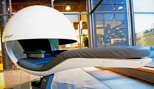 Who wouldn't love to have a nap pod in the old office?