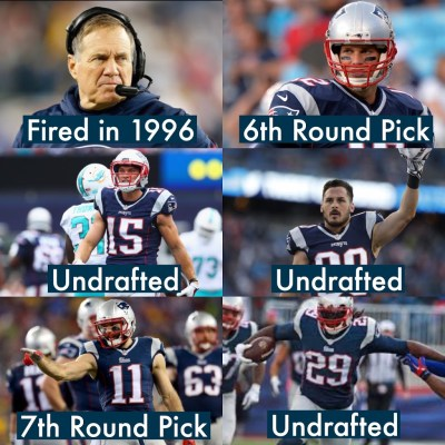 The Patriots are the personification of PASSION meets PERSEVERANCE.