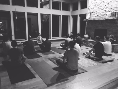 My favorite part of yoga, is the relaxation/mindfulness time at the end.