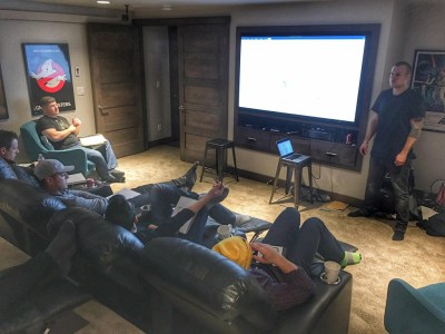 Sean dropping knowledge…not a bad place to learn…on a legit recliner
