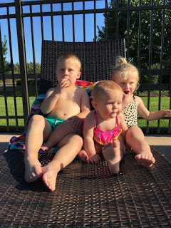Can't beat pool time – especially when its 90!