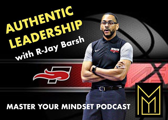 So many nuggets from @coachrjaybarsh Head Men's Basketball Coach at Southeastern University, about authentic leadership, shaping culture, and strategies to invest in your mindset, skill-set, and reset (recovery). #linkinbio #mindset #podcast #coach #leadership #culture #positive #authentic #mindfulness #basketball @seuniversity