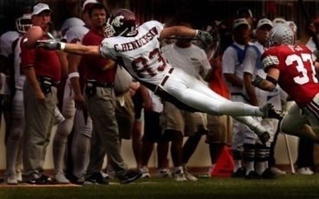 Sometimes you need to take a leap of faith. #TBT #Believe #GoCougs